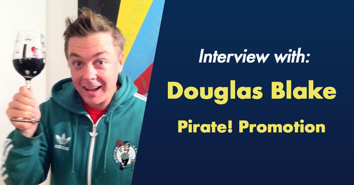 interview with douglas blake pirate promotion nacc community